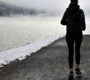 Joggen im Winter