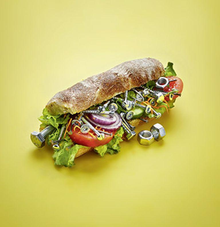 Eisenmangel Eisen Sandwich