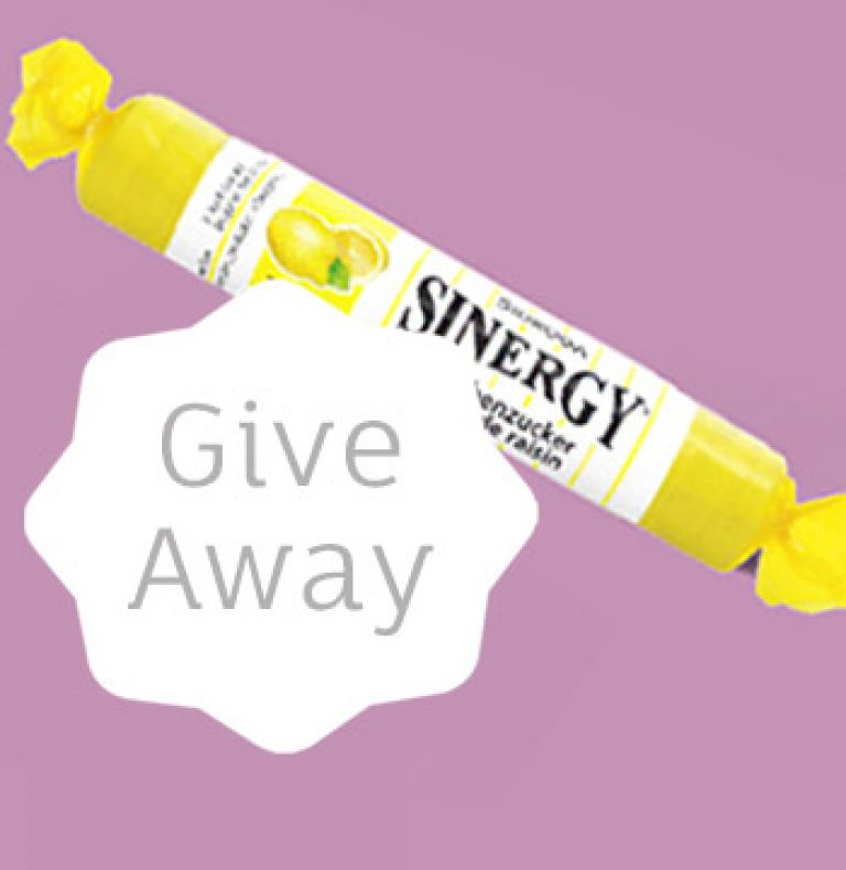 Newsletter Sinergy Traubenzucker Give Away