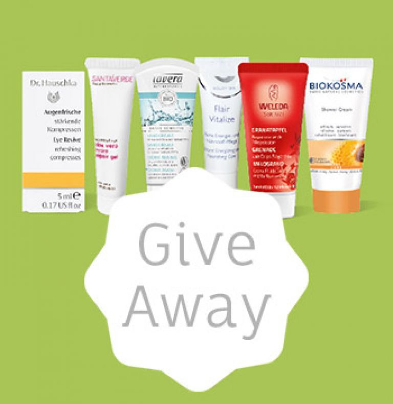 Naturkosmetik Entdeckerset Give Away