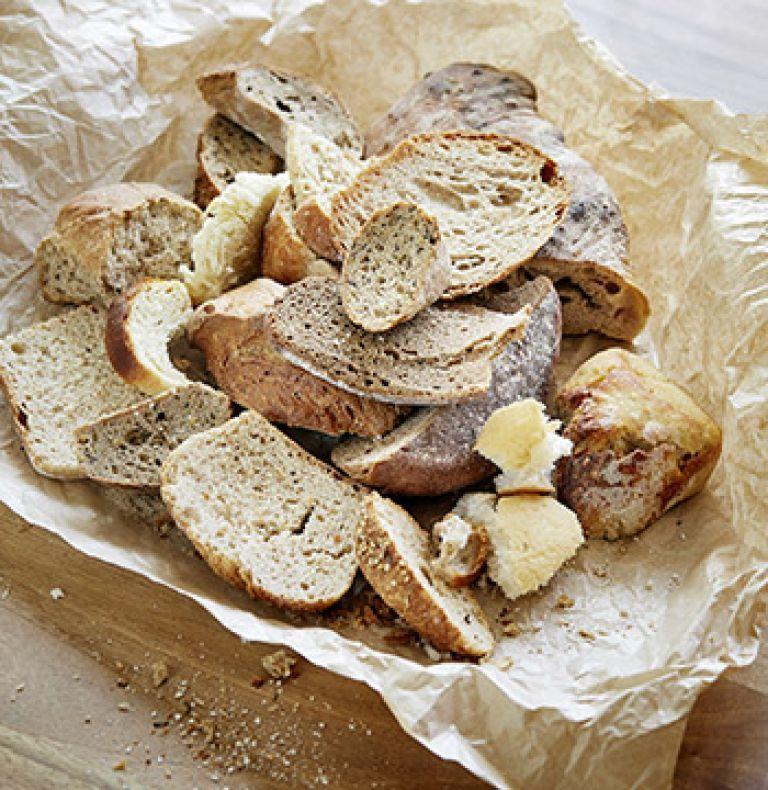 Altes Brot Foodwaste
