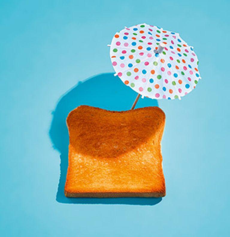 Sonnenschutz Toast