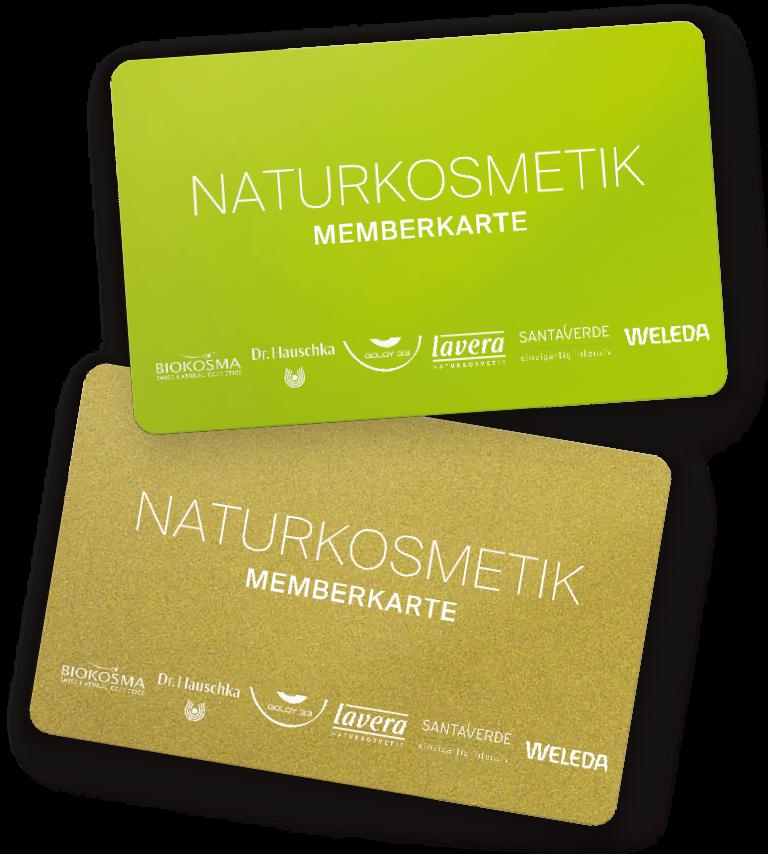 Naturkosmetik Kundenkarte