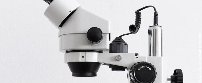 Mikroskop Mikrobiota